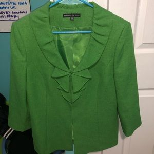 PRESTON & YORK GREEN JACKET SIZE 10